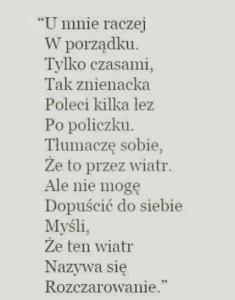 wiersz dody