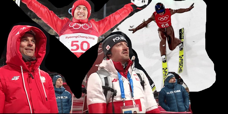 Kamil Stoch, złoty medal, Adam Małysz, Piotr Żyła
