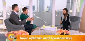 Anna Lewandowska wywiad, Dzień dobry tvn, karate, Robert Lewandowski, żona Roberta,