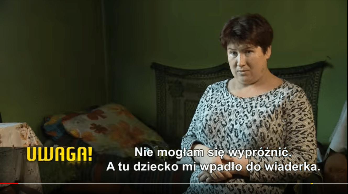 """SZOK! """"Chciałam się wypróżnić, wypadło dziecko"""" Kobieta z Polski przez 9 miesięcy nie zorientowała się, że była w ciąży! JAK?!"""