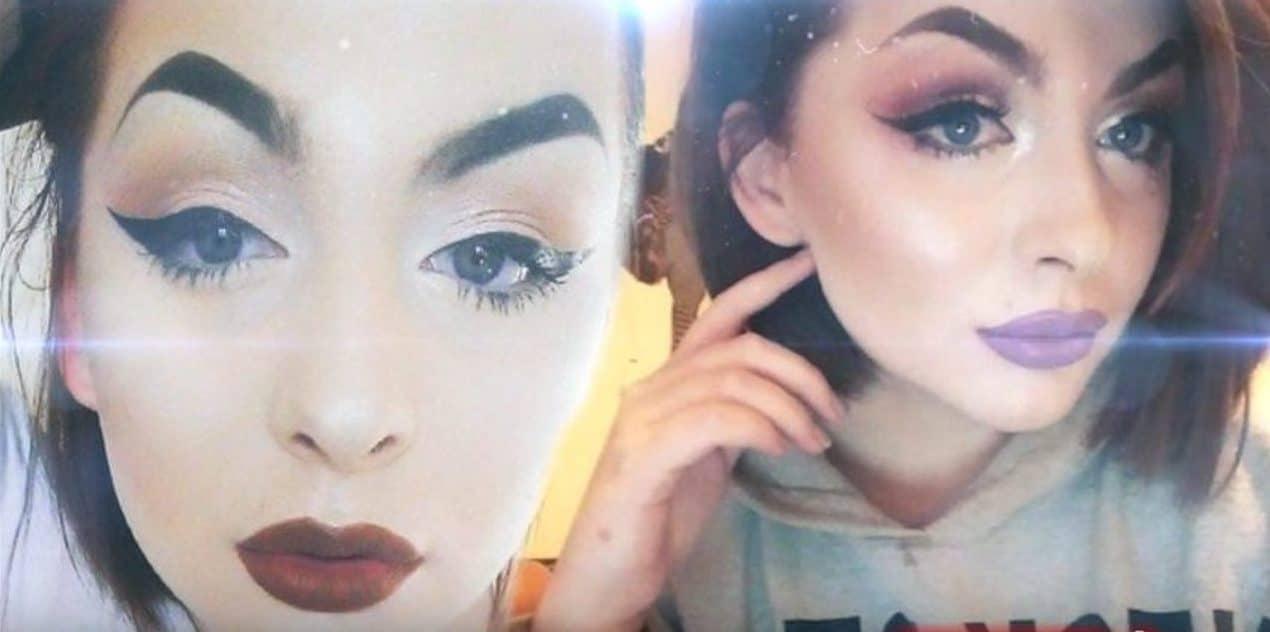 Chłopak zerwał z nią kiedy pokazała mu swoją TWARZ bez makijażu! Zrobił to tylko dlatego, że jej WYGLĄD NIE spełniał jego OCZEKIWAŃ! (foto)