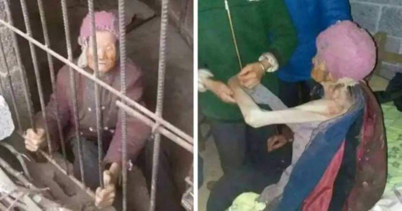 93-letnia staruszka przez niemal 3 lata żyła zamknięta w CHLEWIE! Przetrzymywała ją tam SYNOWA, która nie chciała (…)! (wideo)