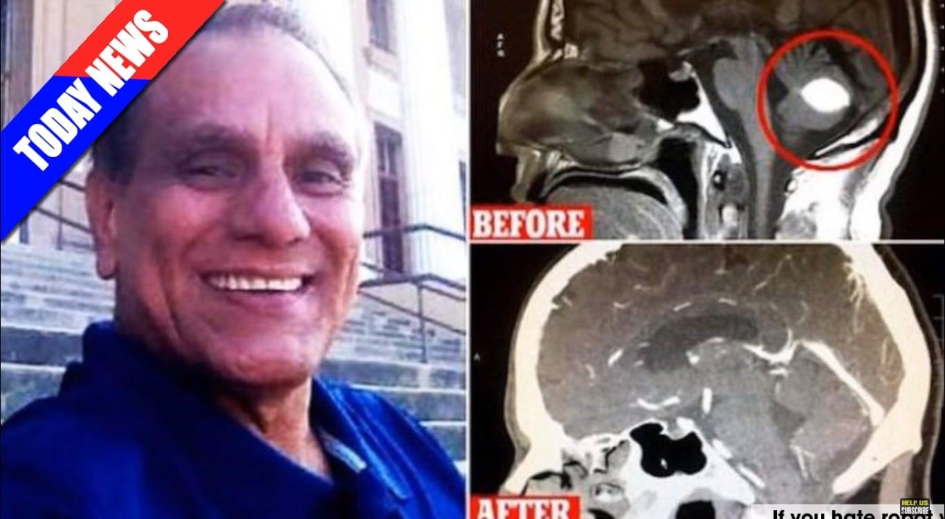 Czekał na zabieg usunięcia złośliwego guza MÓZGU! Dzień przed operacją okazało się, że po NOWOTWORZE  nie ma nawet ŚLADU! (wideo)