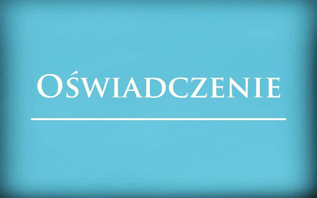 """Jarosław Jakimowicz wydał oświadczenie ws. gwałtu dokonanego przez """"gwiazdora TVP INFO"""""""