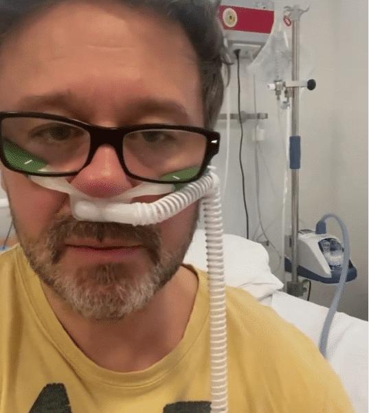 Andrzej Piaseczny w szpitalu. Wokalista z trudem oddycha! (VIDEO)