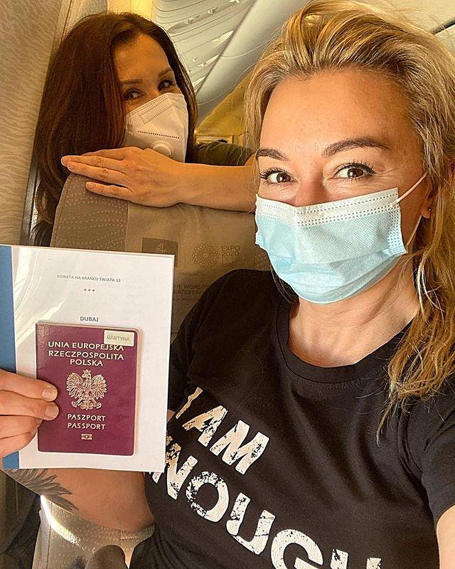 """Złapała ją pustynna burza. Martyna Wojciechowska pokazała zdjęcia """"jak na okładkę""""!"""